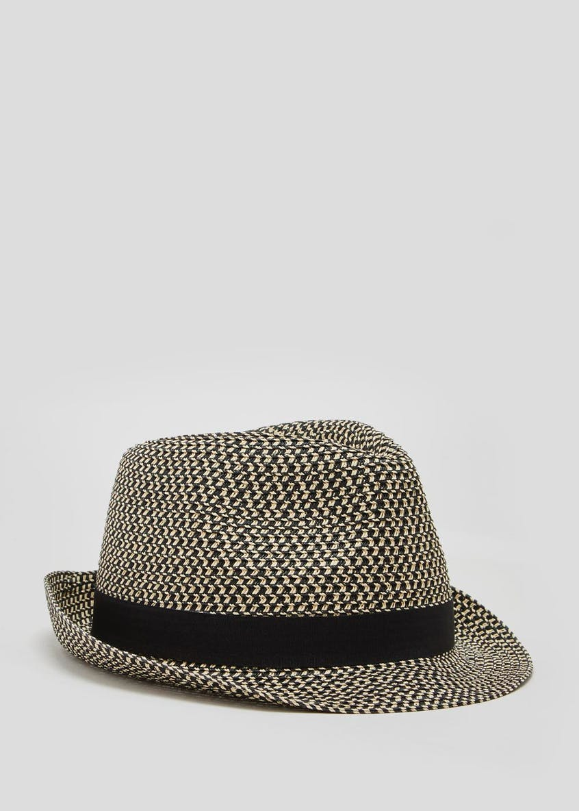 Mixed Straw Hat