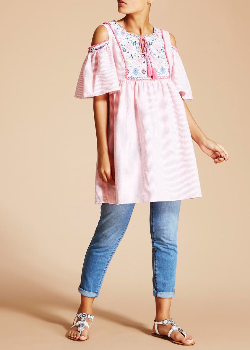 Falmer Embroidered Stripe Tunic