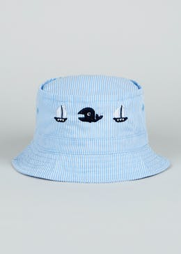 Boys Stripe Sun Hat (Newborn-23mths)