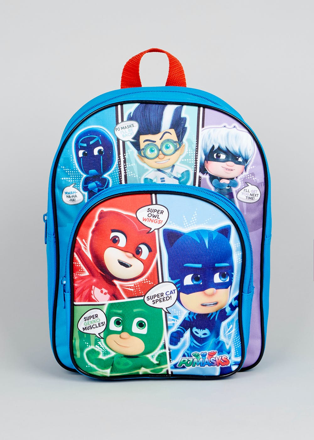 Kids Pj Masks Backpack One Size Blue Matalan