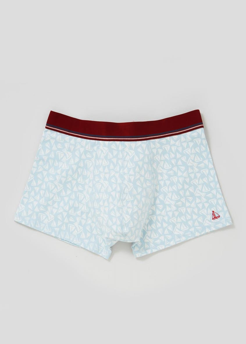 Boat Print Hipster Trunks