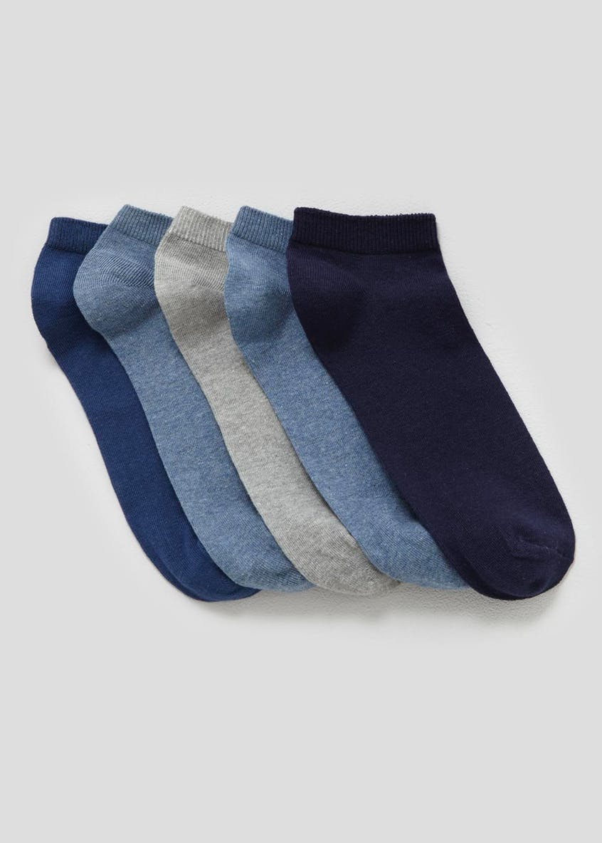 5 Pack Trainer Socks