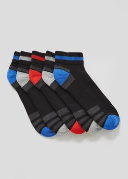 5 Pack US Athletic Quarter Socks