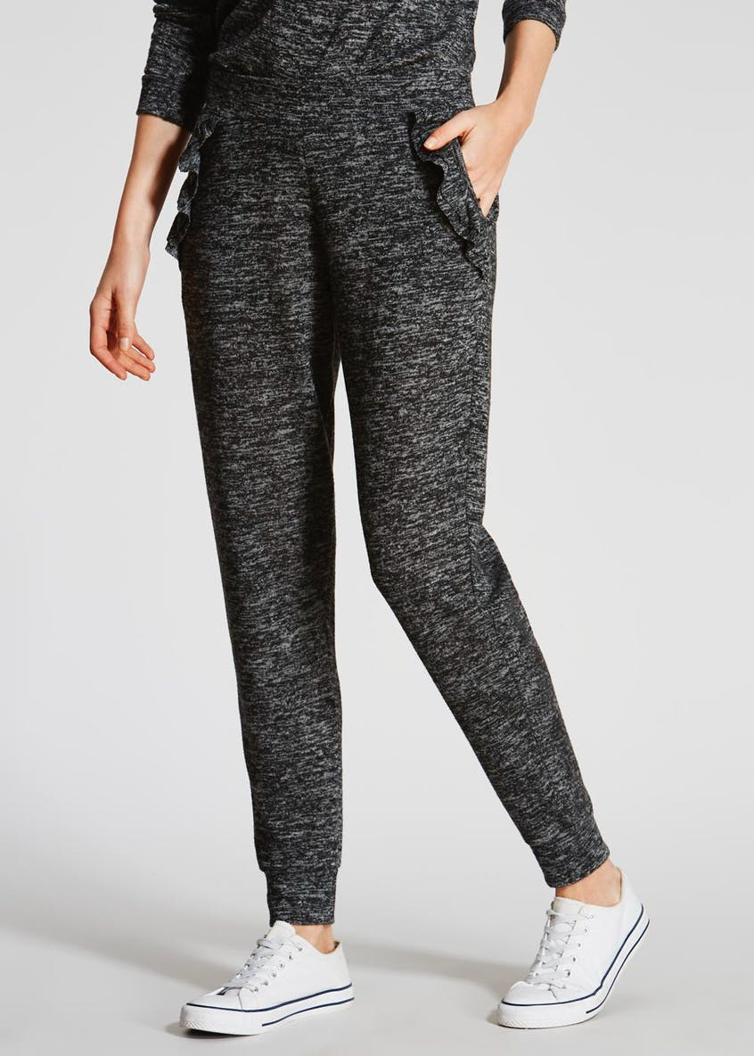 Frill Tapered Jogging Bottoms