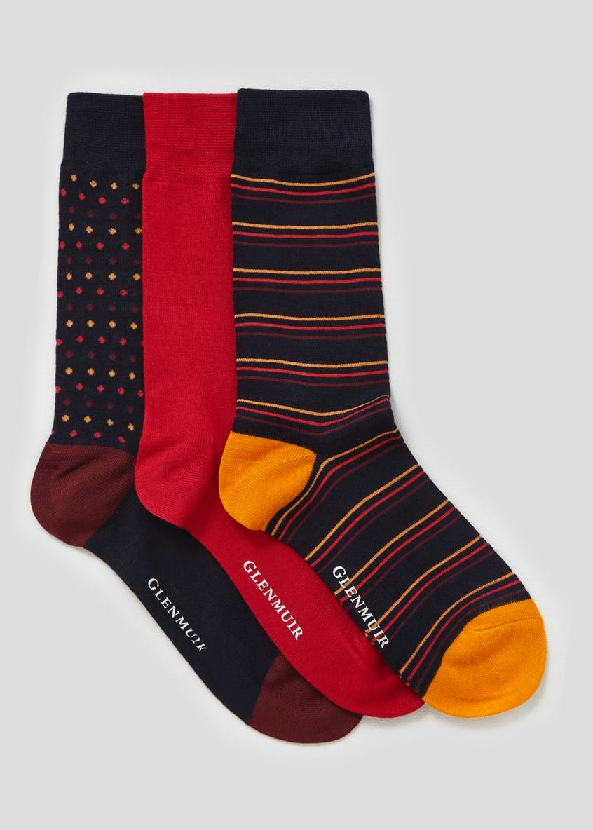 3 Pack Glenmuir Bamboo Socks