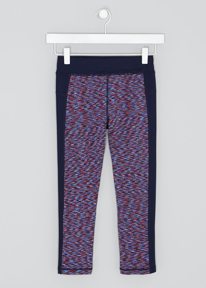 Girls Souluxe Sports Capri Leggings (9-13yrs)