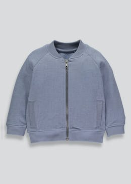 Boys Knitted Bomber Jacket (3mths-6yrs)