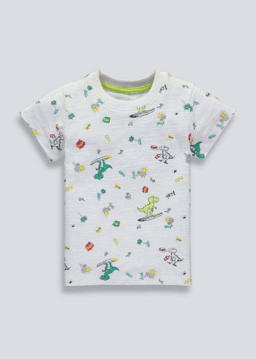 Boys Dinosaur T-Shirt (3mths-6yrs)