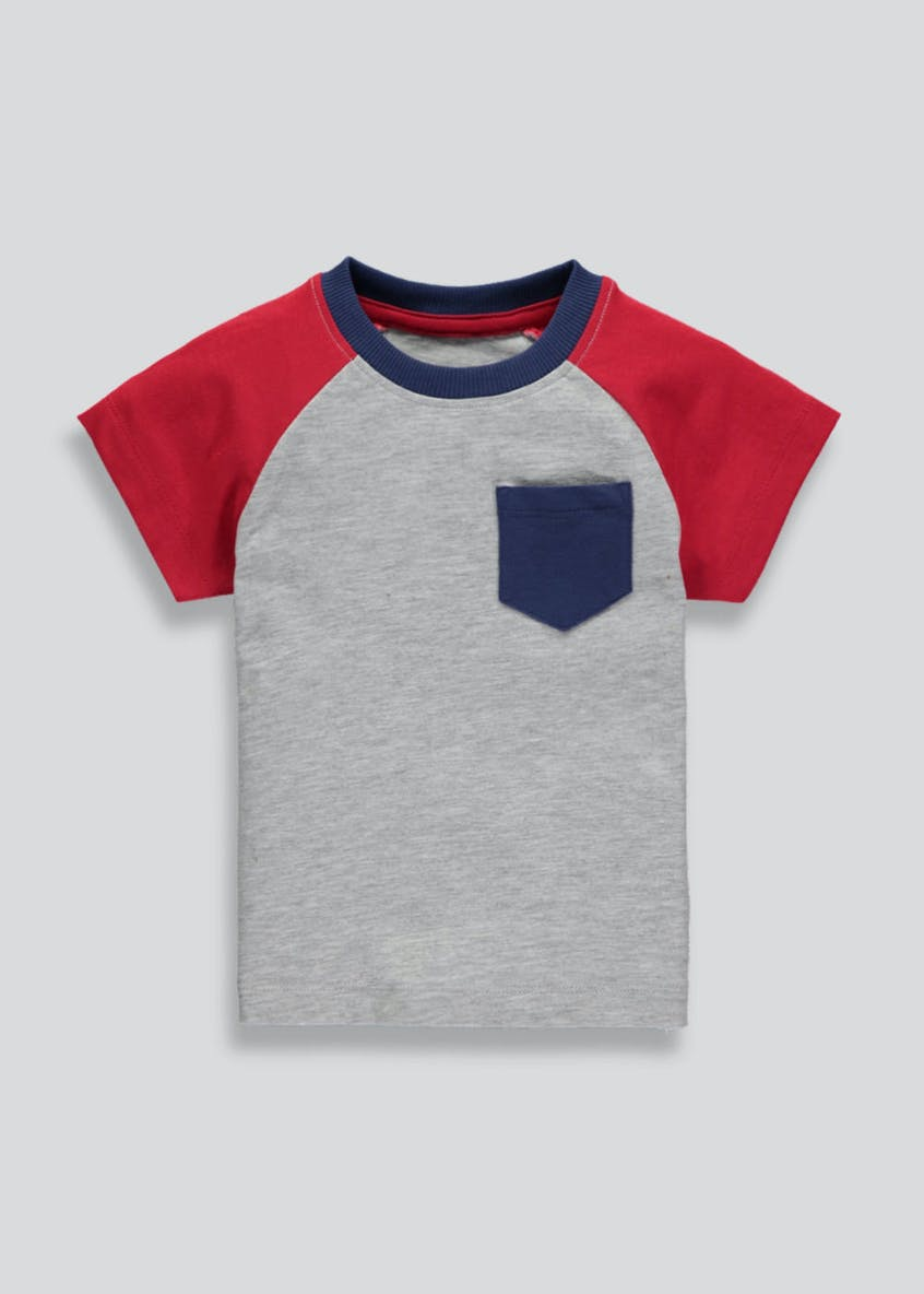 Boys Colour Block T-Shirt (3mths-6yrs)