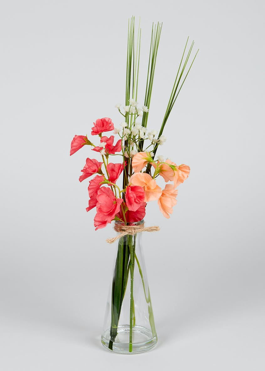 Floral Arrangement in Vase (29cm)