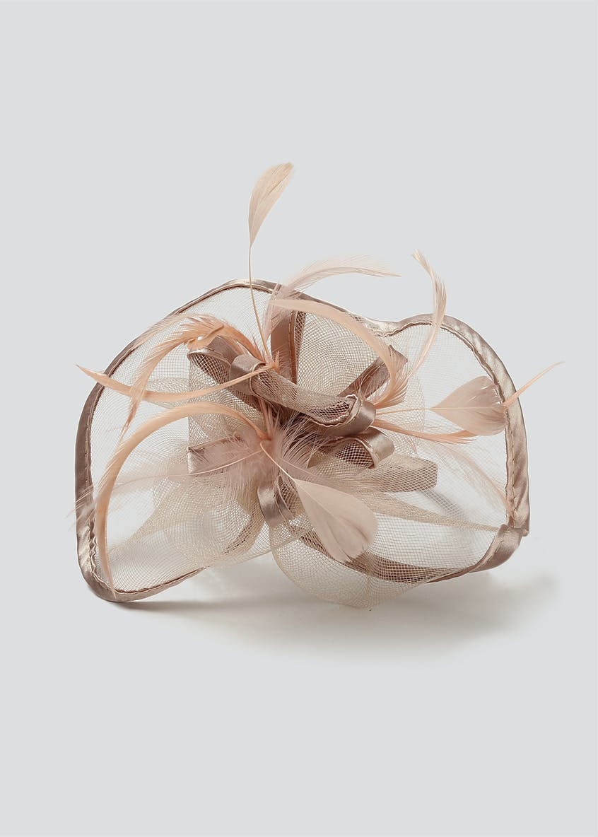 Satin Trim Fascinator