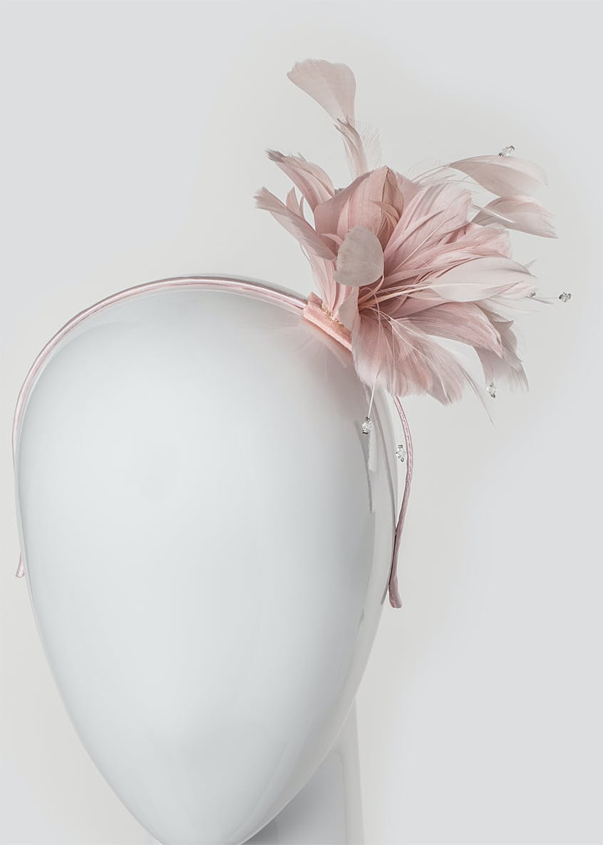 Triple Flower Fascinator