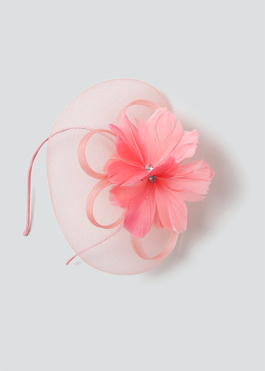 Large Flower Fascinator