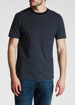Ashton Stripe Crew Neck T-Shirt