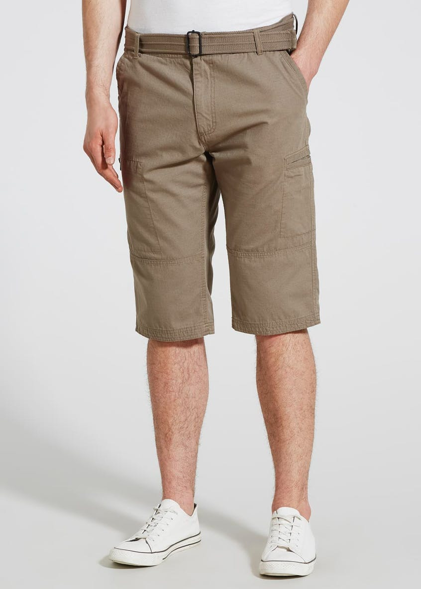 3/4 Length Ripstock Shorts