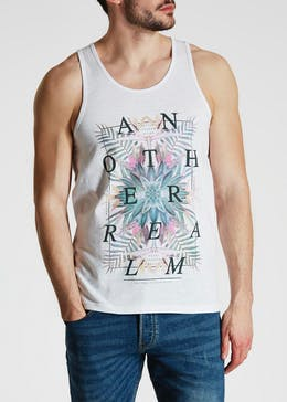 Another Realm Printed Vest
