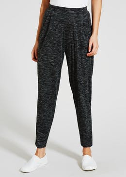 Harem Textured Trousers