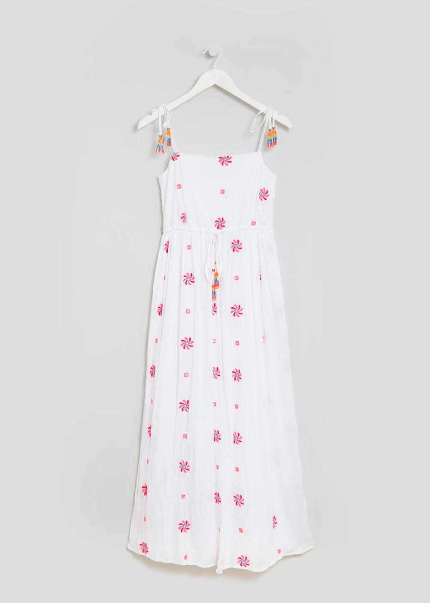 Falmer Festival Embroidered Maxi Dress
