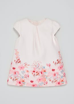 Girls Floral A-Line Dress (3mths-6yrs)