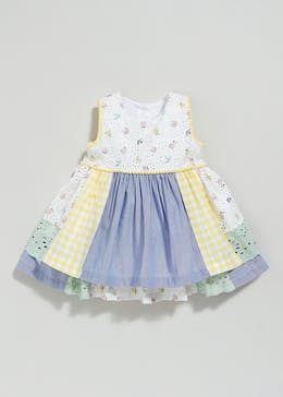 Girls Patchwork Dress (Newborn-18mths)