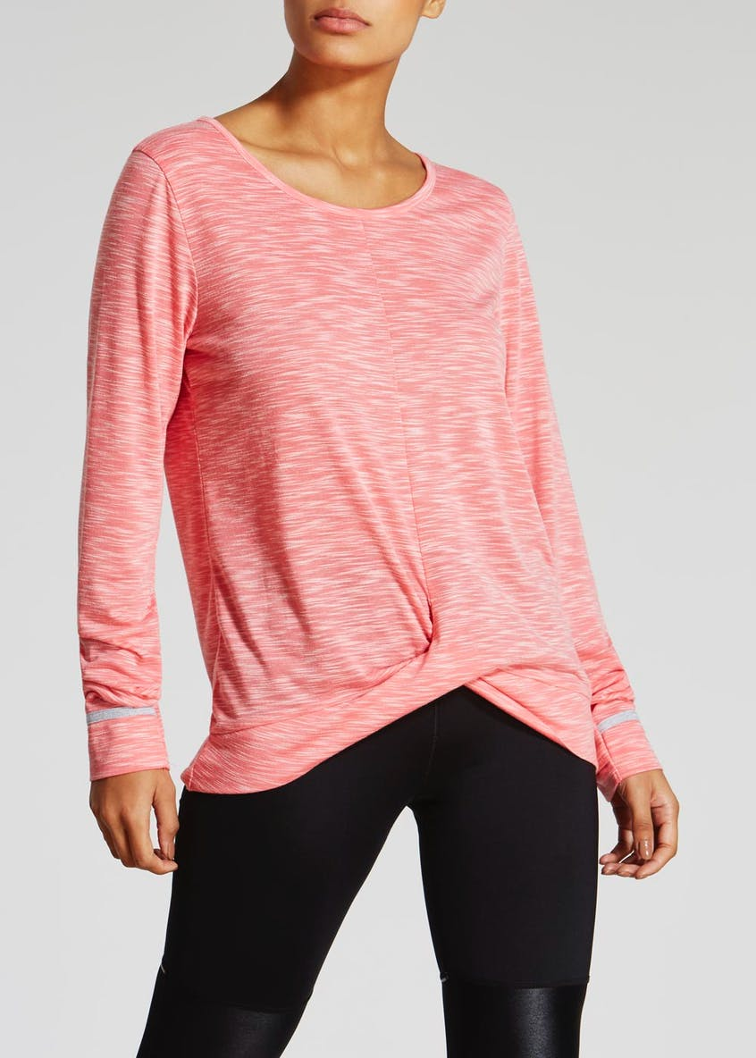 Souluxe Twist Front Gym Top