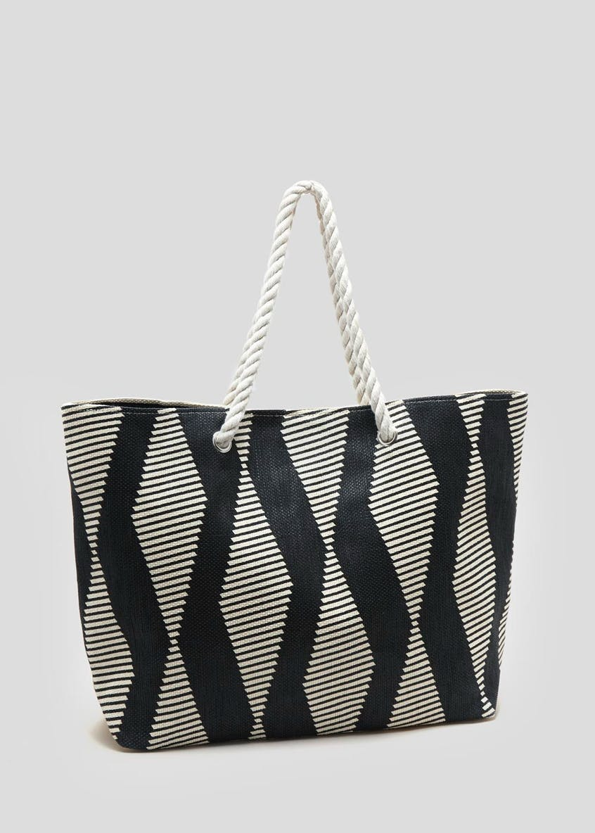 Geo Rope Beach Bag