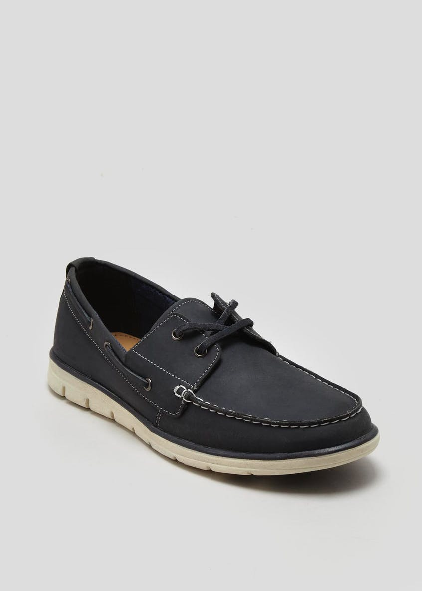 Soleflex Nubuck Boat Shoes