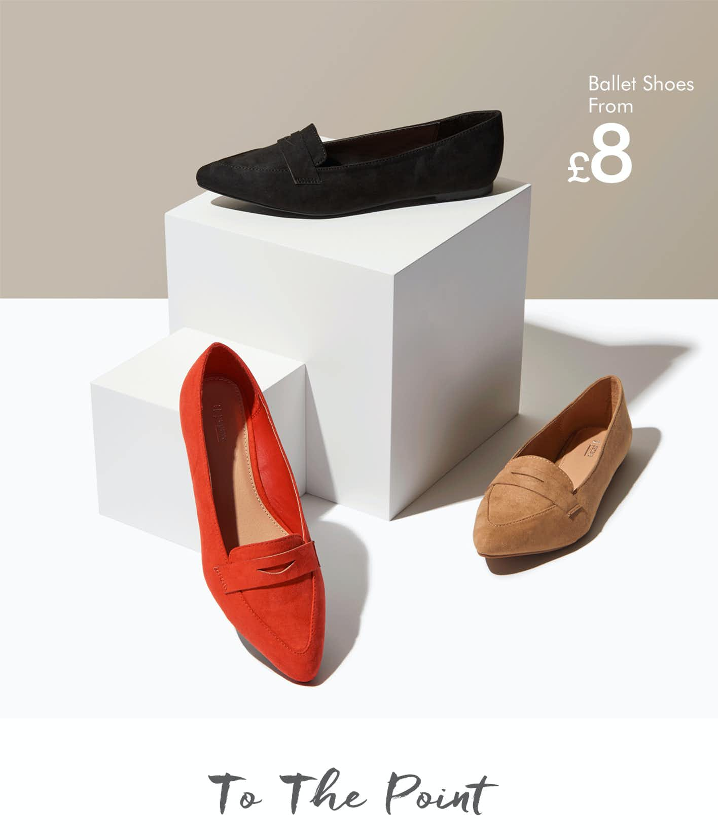 Shop ballet shoes & flats