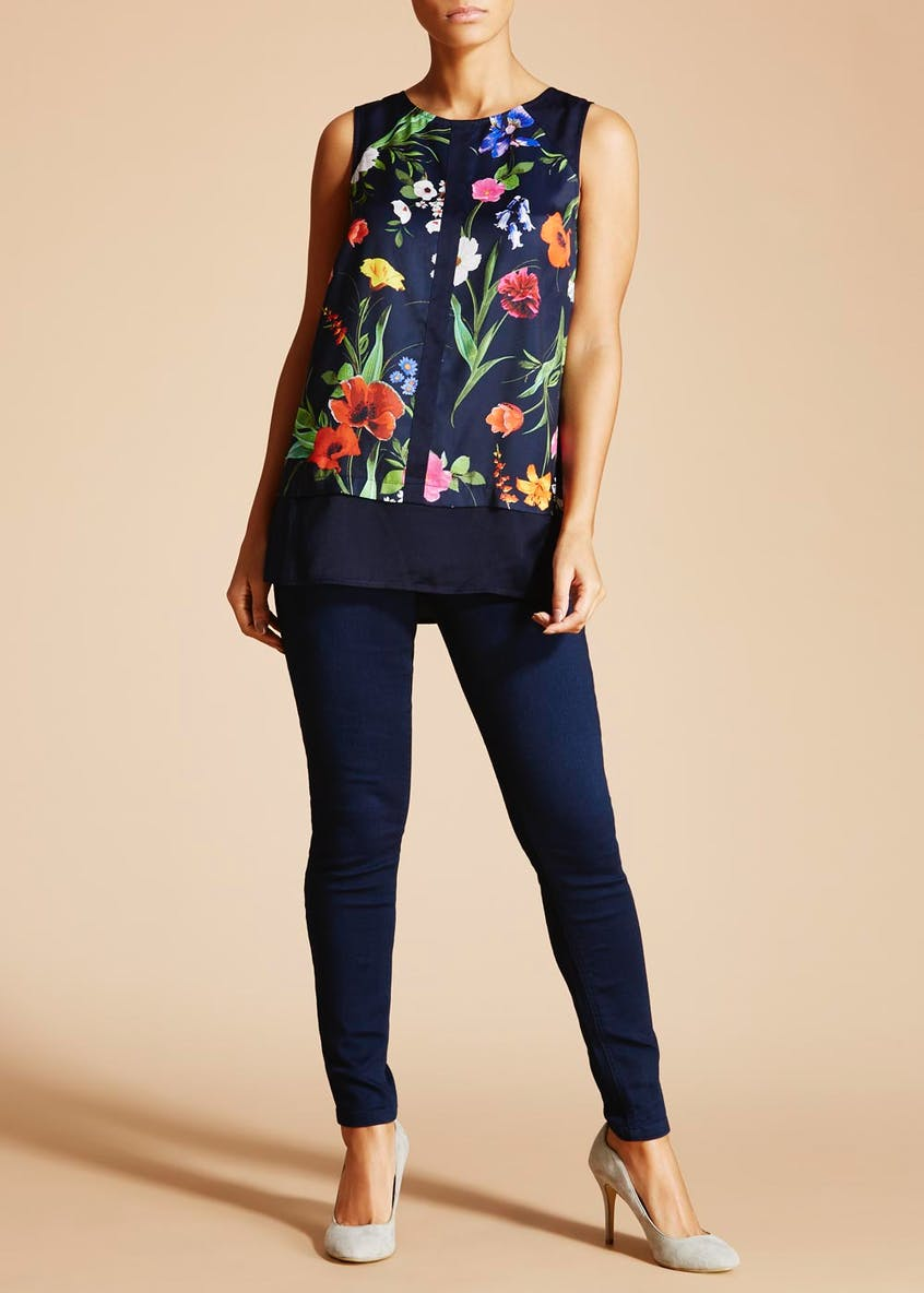 Soon Meadow Floral Sleeveless Top