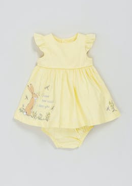 Girls Guess How Much I Love You Dress & Knickers Set (Newborn-12mths)