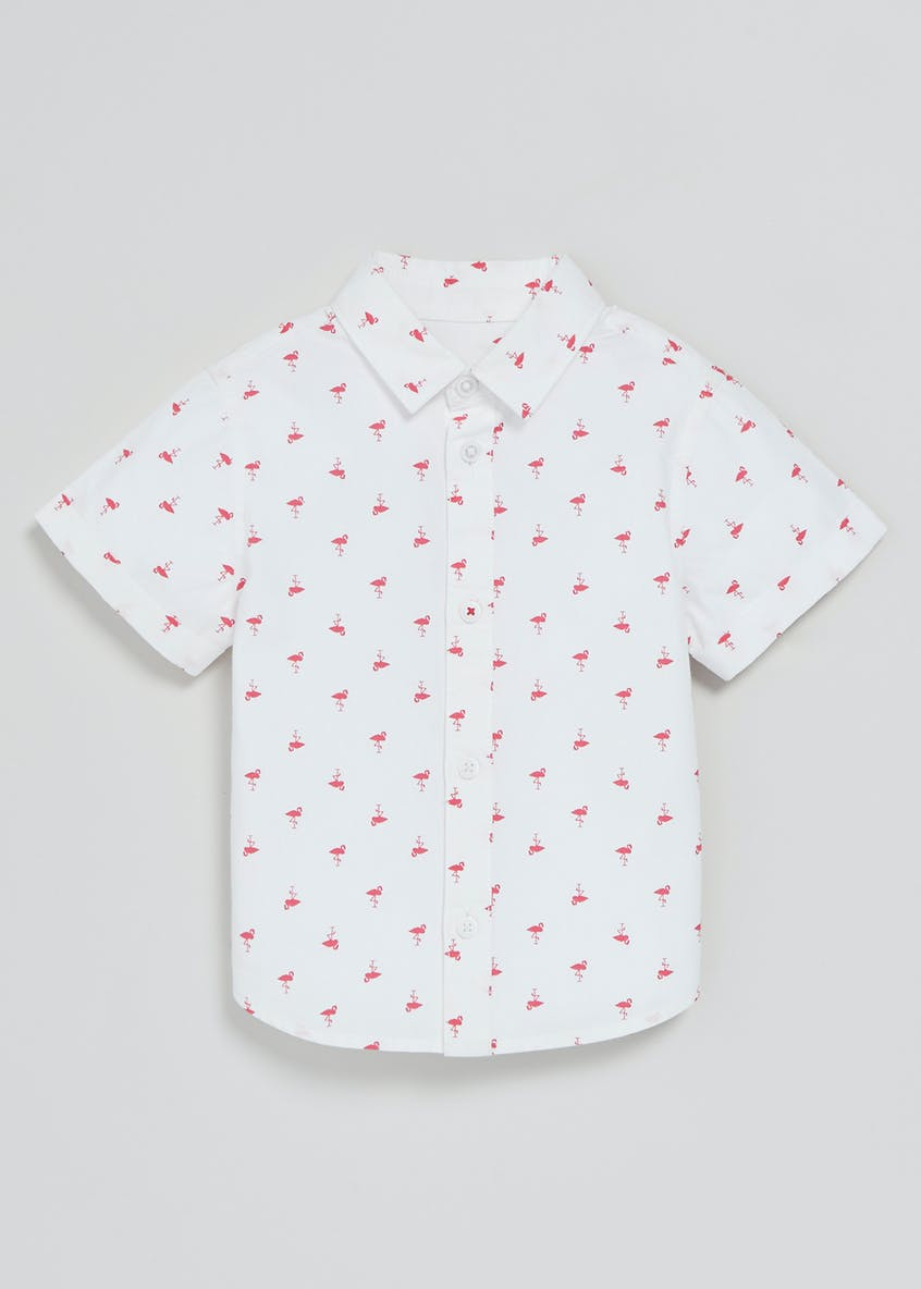 Boys Flamingo Print Shirt (3mths-6yrs)