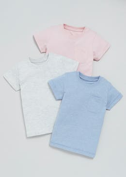 Boys 3 Pack Jersey T-Shirts (3mths-6yrs)