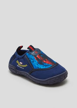 Kids Spider-Man Swim Shoes (Younger 6-11)