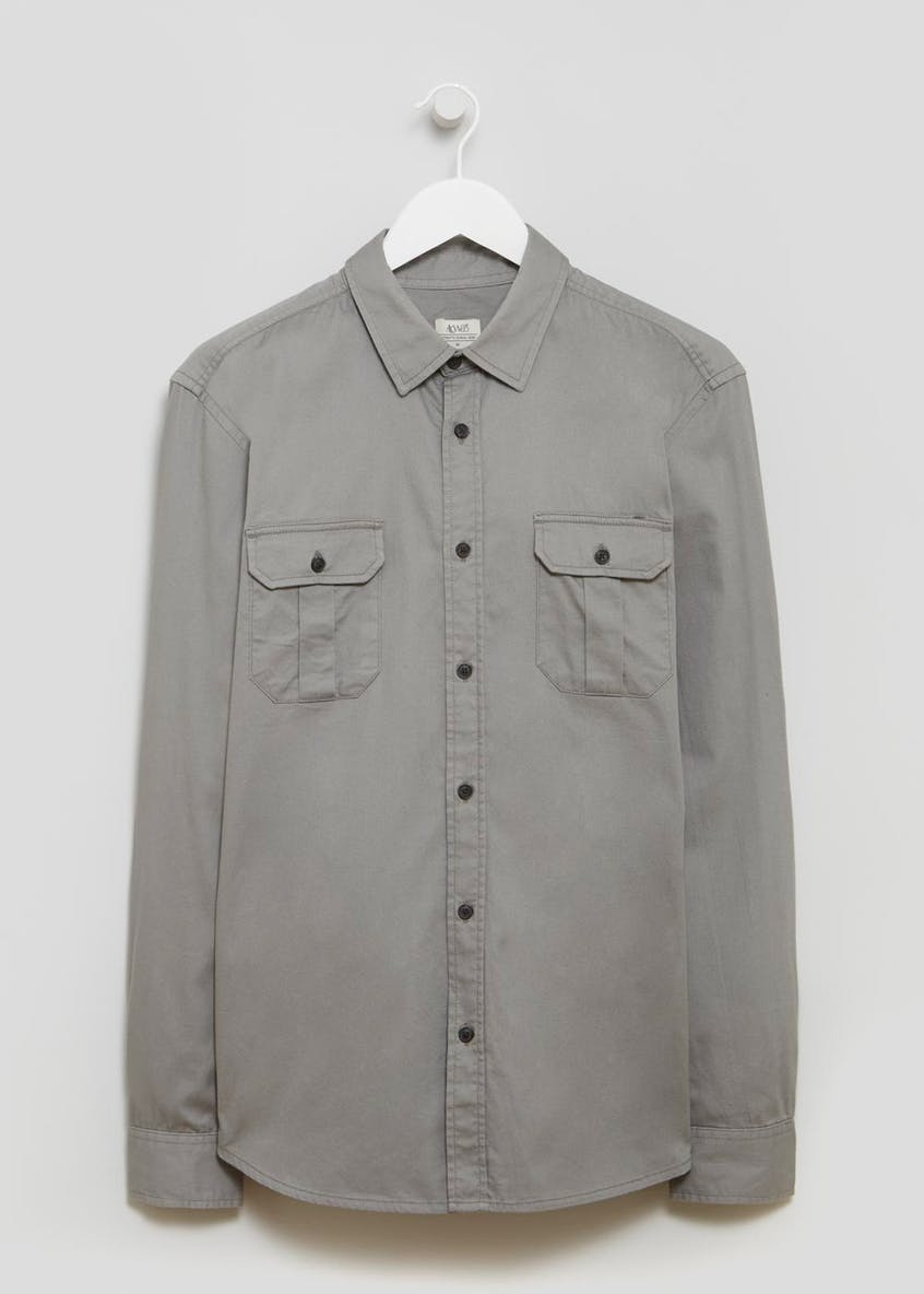Roll Sleeve Utility Shirt