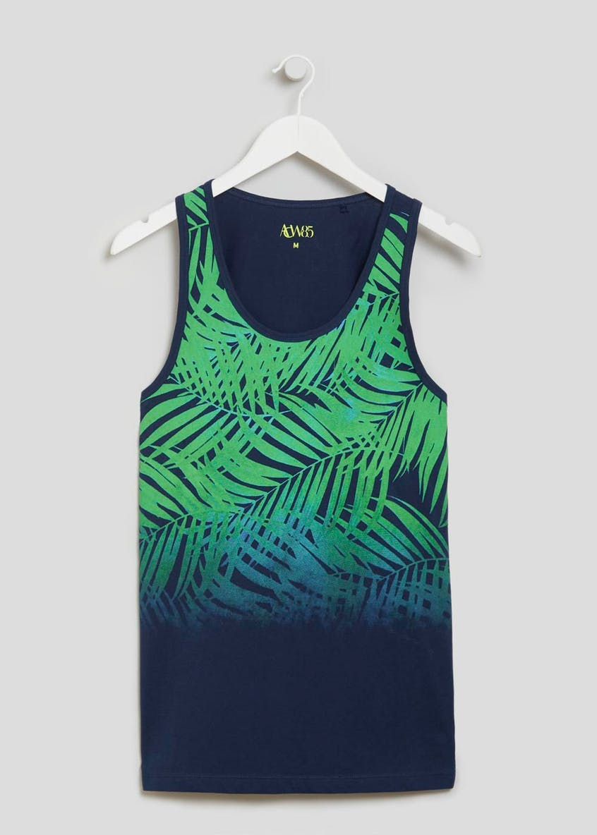 Tropical Leaf Vest