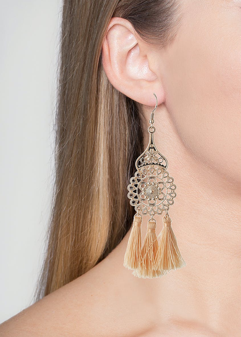 Statement Tassel Earring