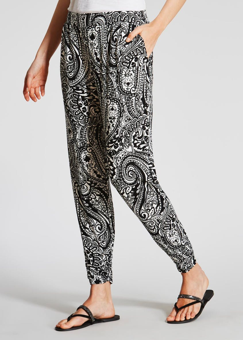 Paisley Harem Trousers