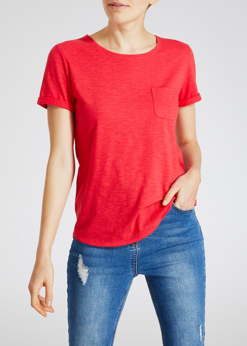 Modern Basic Pocket T-Shirt