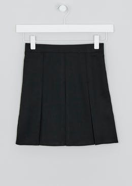 Girls Box Pleat School Skirt (3-16yrs)