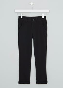 Girls Slim Leg School Trousers (3-13yrs)