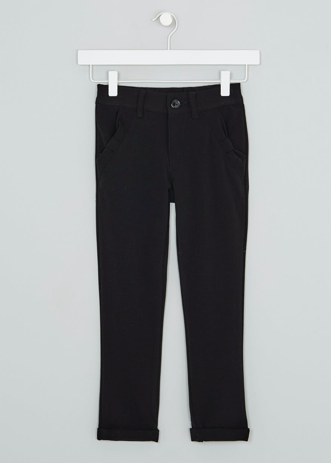 Girls Slim Leg School Trousers (3-16yrs)