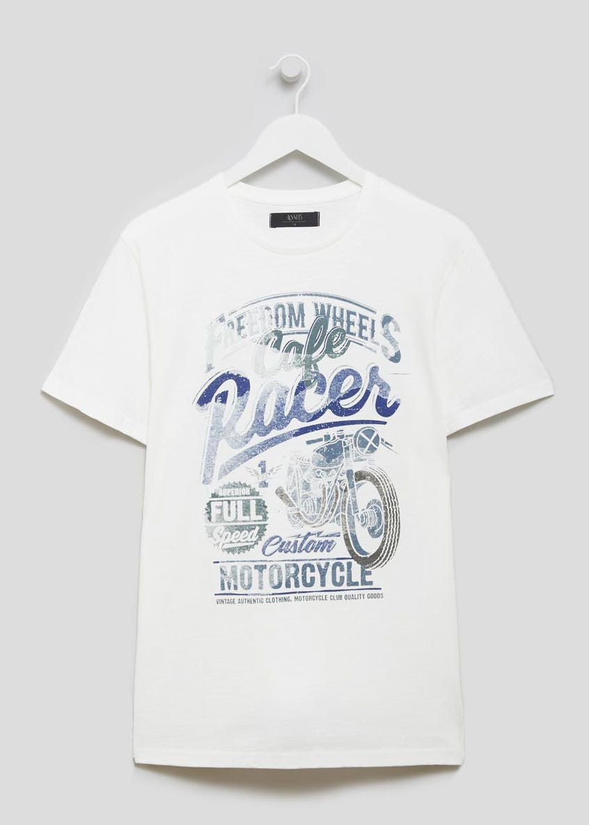Big & Tall Freedom Wheels Graphic Print T-Shirt