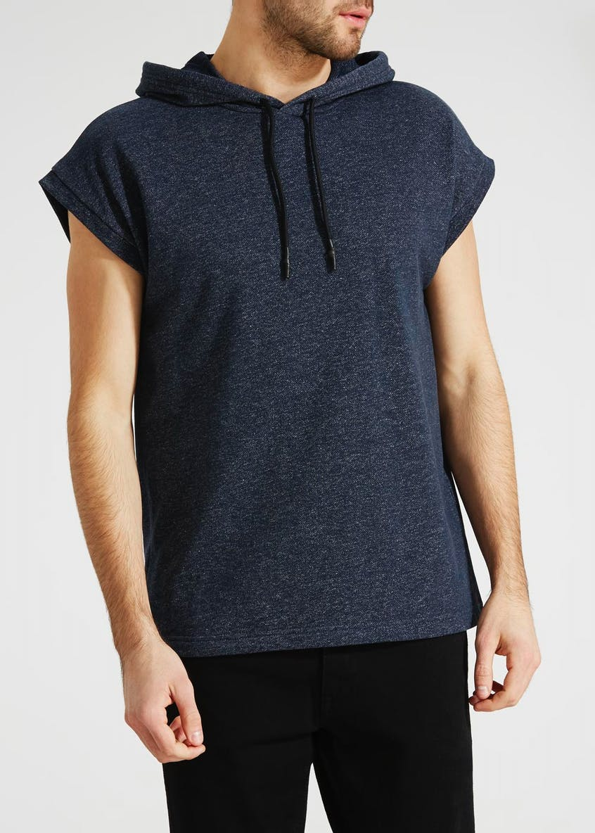 Short Sleeve Hooded Sweatshirt