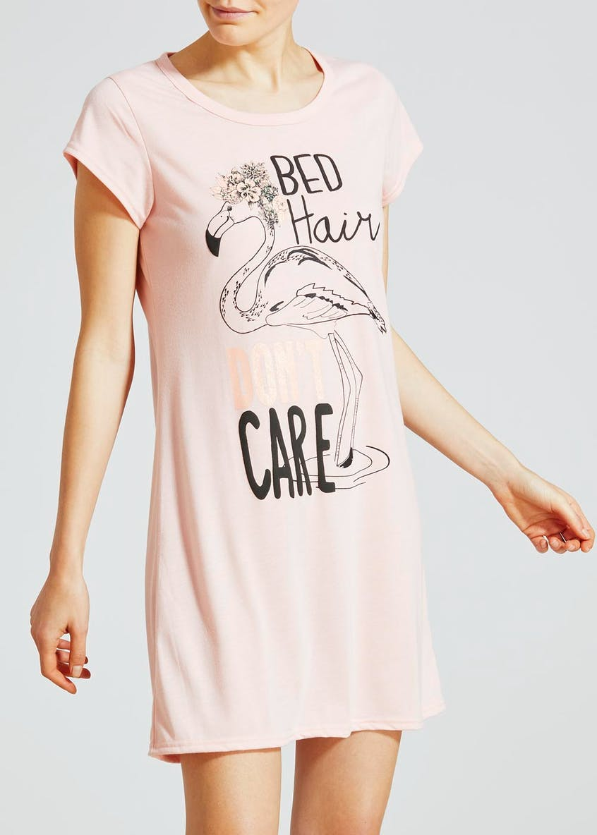 2 Pack Summer Slogan Nighties