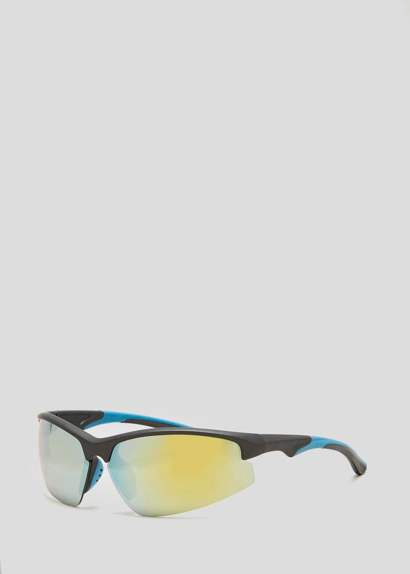 Sports Half Frame Sunglasses