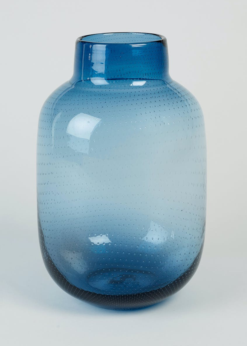 Bubble Glass Vase (28cm x 18cm x 18cm)