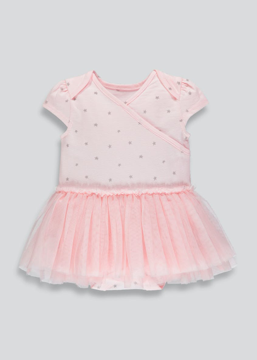 Girls Tutu Bodysuit (Tiny Baby-12mths)