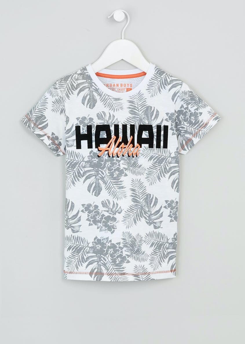 Boys Hawaii T-Shirt (4-13yrs)