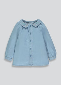 Girls Denim Shirt (3mths-6yrs)