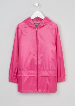 Kids Pink Regatta Stormbreak Waterproof Jacket (5-12yrs)